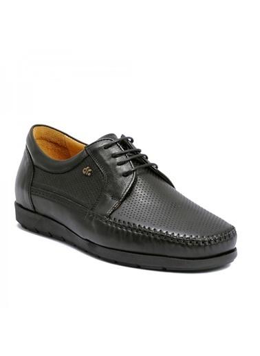 Dr.Flexer Dr.Flexer 808004 Comfort N Kalınlığı Yaklaşık 2 Cm Ki Deri Sıyah Erkek Ayakkabı Siyah